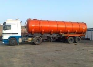 Sewage Removal Tanker