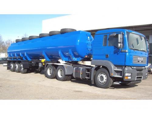 Tanker Water Tanker Semi Trailer 01 m